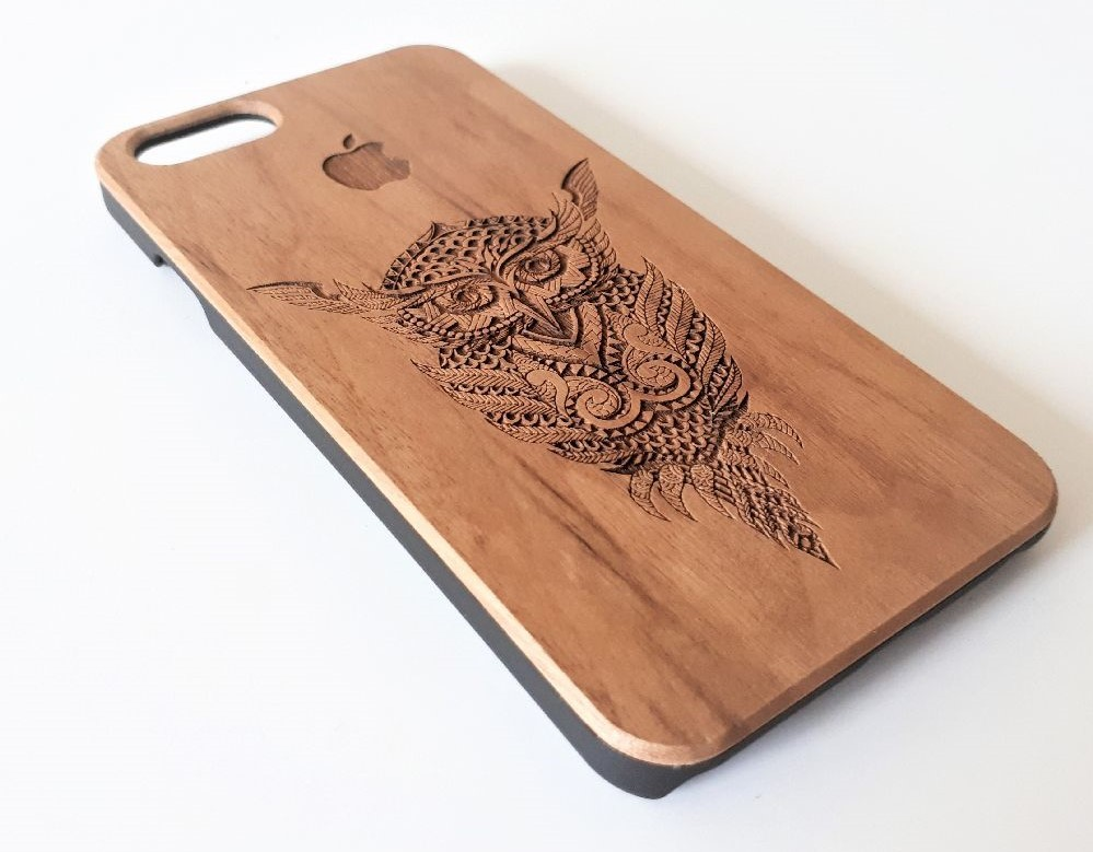 Wooden cases for phone